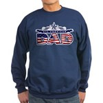 All American Dad #1 Sweatshirt (dark)