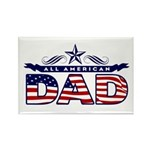 All American Dad #1 Rectangle Magnet