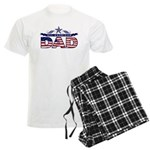 All American Dad #1 Men's Light Pajamas