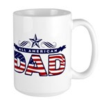 All American Dad #1 Large Mug