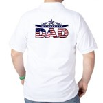 All American Dad #1 Golf Shirt