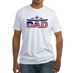 All American Dad #1 Fitted T-Shirt
