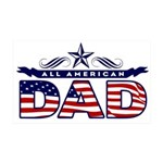 All American Dad #1 38.5 x 24.5 Wall Peel
