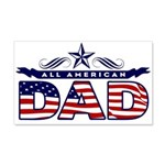 All American Dad #1 22x14 Wall Peel