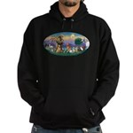 StFrancis-Dogs-Cats-Horse Hoodie (dark)