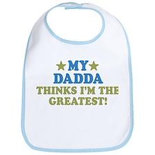 Greatest Dadda Bib