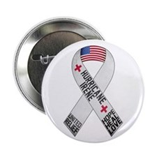 "Hurricane Irene Support Ribbon 2.25"" Button"