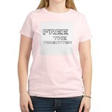 Free the Tomkitten! Women's Pink T-Shirt