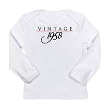 VINTAGE Long Sleeve Infant T-Shirt