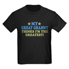 My Great Granny Kids Dark T-Shirt