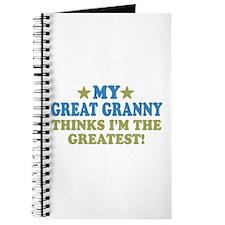 My Great Granny Journal