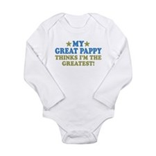 My Great Pappy Long Sleeve Infant Bodysuit