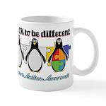 Okay To Be Different Autism Mug