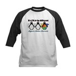 Okay To Be Different Autism Kids Baseball Jersey