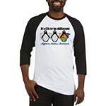 Okay To Be Different Autism Baseball Jersey