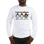 Okay To Be Different Autism Long Sleeve T-Shirt