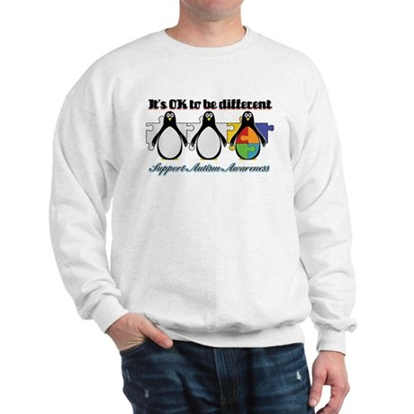 Okay To Be Different Autism Sweatshirt