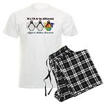 Okay To Be Different Autism Men's Light Pajamas