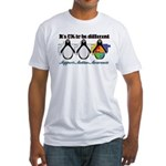 Okay To Be Different Autism Fitted T-Shirt