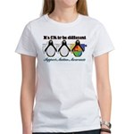 Okay To Be Different Autism Women's T-Shirt