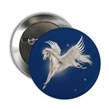 "Pegasus In Flight 2.25"" Button (10 pack)"