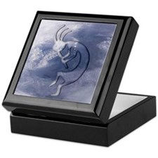 Kokopelli Elemental (Wind) Keepsake Box