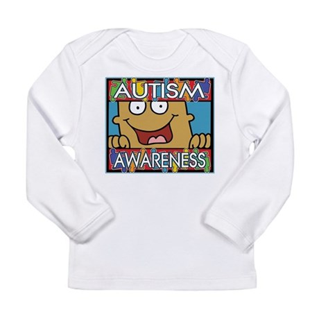 Smile Autism Awareness Long Sleeve Infant T-Shirt