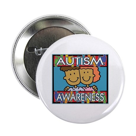 "Cute Autism Awareness 2.25"" Button (10 pack)"