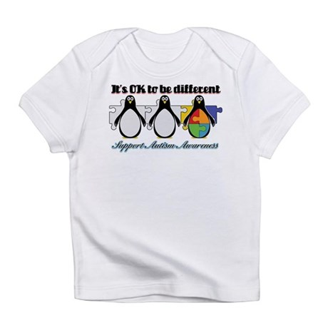 Okay To Be Different Autism Infant T-Shirt