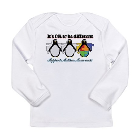 Okay To Be Different Autism Long Sleeve Infant T-S