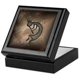 Kokopelli Stone Keepsake Box