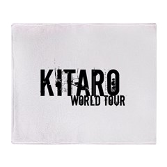 Kitaro World Tour Throw Blanket
