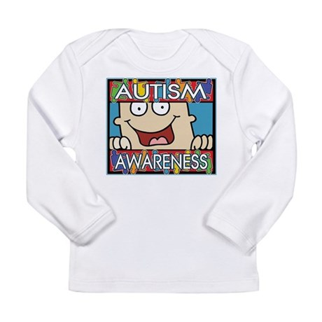 Funny Autism Awareness Long Sleeve Infant T-Shirt