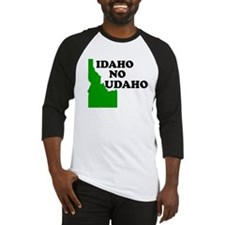 IDAHO NO UDAHO SHIRT Baseball Jersey