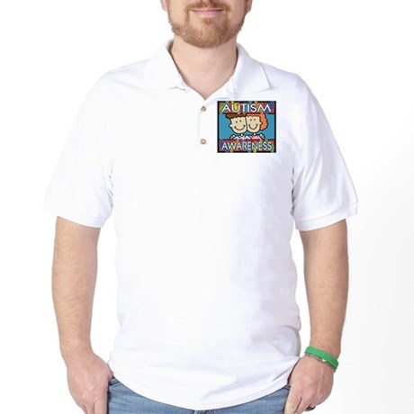 Cute Autism Awareness Golf Shirt