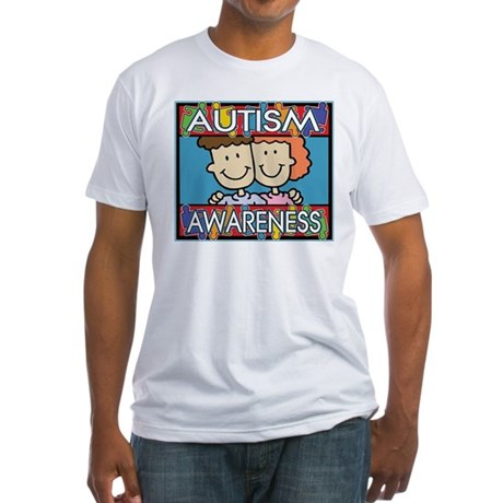 Cute Autism Awareness Fitted T-Shirt