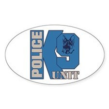 Police K9 Unit Dog Decal