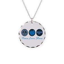 PEACE LOVE STENO Necklace