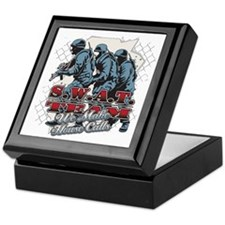 SWAT We Make House Calls Keepsake Box