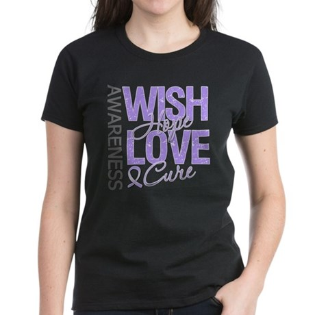 General Cancer Wish Hope Women's Dark T-Shirt