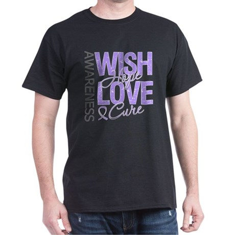 General Cancer Wish Hope Dark T-Shirt