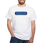 ST: Technobabble2 White T-Shirt