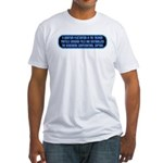 ST: Technobabble2 Fitted T-Shirt