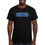 ST: Technobabble2 Men's Fitted T-Shirt (dark)