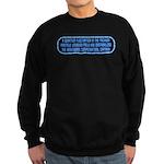 ST: Technobabble2 Sweatshirt (dark)