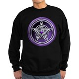 Purple Pentacle w/inlay Jumper Sweater