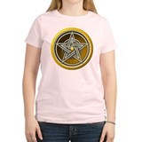 Yellow Pentacle w/inlay T-Shirt