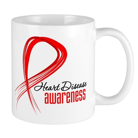 Heart Disease Awareness Mug