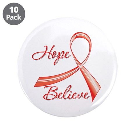 "Heart Disease 3.5"" Button (10 pack)"