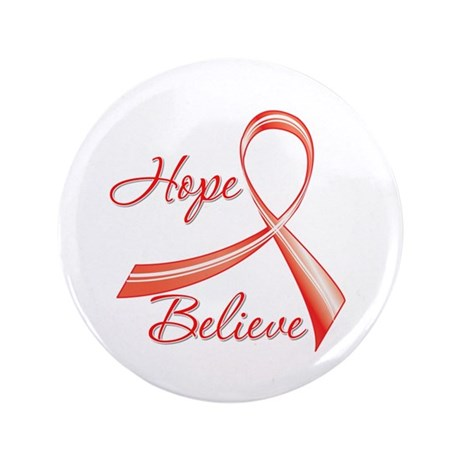 "Heart Disease 3.5"" Button (100 pack)"